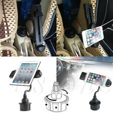 Bendy Adjustable Car Cup Holder Mount for Apple iPad Mini Kindle Fire Tablet 2 3