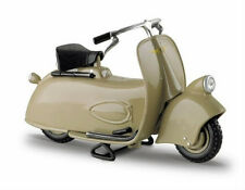 VESPA MP5 PAPERINO 1945 in Khaki - 1:18 Die-Cast Scooter Model by Maisto - New