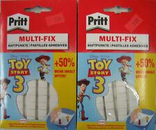 2 Packungen PRITT Multi_Fix Klebepunkte Haftpunkte,  2x52g (100g= 3,95€)
