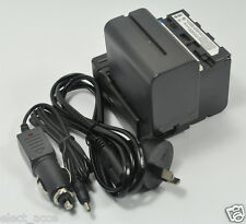 2x Battery NP-F970+Charger for Sony DSR-PD150 DSR-PD150P DSR-PD170 GV-HD700 New