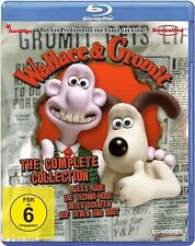 Blu-ray WALLACE & GROMIT - Complete Collection # Nick Park ++NEU
