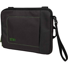 "STM JACKET D7 7"" TABLET PADDED SLEEVE BLACK GREEN IPAD MINI NEXUS GALAXY CASE"