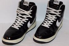 Nike Air Force 1 High Sheed Patent Black White