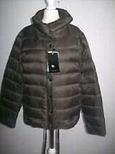 ZARA Feather Down Ultra Light Puffer Black Jacket Size S REF 5071/240