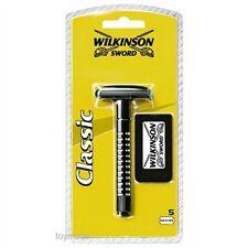 Wilkinson Sword CLASSIC Rasierer inkl. 5 Klingen NEU&OVP Nassrasierer