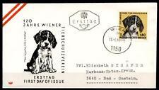 Hunde und Kinder. FDC-Brief. Österreich 1966