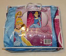Disney Princess Cinderella Printed Large Coral Fleece Blanket 160cm x 220cm New