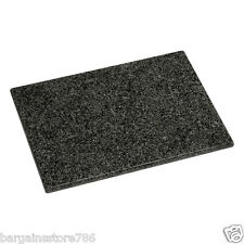 Black Granite Kitchen Worktop Saver Cutting Slicing Large Hygenic Chopping Board