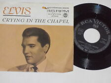 "ELVIS PRESLEY -Crying In The Chapel- 7"" 45"