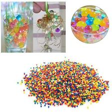 1000pcs Water Balls Crystal Pearls Jelly Gel Bead for Orbeez Toy Refill Color BA