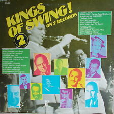 2 LP Kings Of Swing! - Various ,NEAR MINT,cleaned,USA Press. Pickwick PTP-2072
