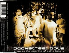 BACKSTREET BOYS Show Me The Meaning Of Being Lonely  MCD 1995 RAR & WIE NEU 90s