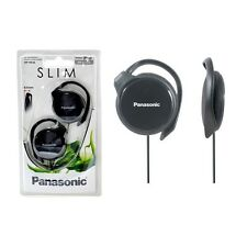 Panasonic RP-HS46-E-K Black Slim Headphones Powerful sound with RPHS46 /GENUINE
