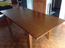 Heals, Extending Dining Table, Walnut Stained Oak. Beautiful Table.