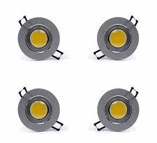 12 x LED Einbaustrahler SET Einbauleuchte WARMWEISS Edelstahl Vorschaltgerät NEU