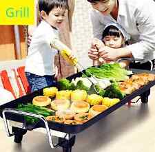 Electric Teppanyaki Table Top Grill Griddle BBQ Barbecue Camp Party Festival UK