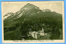 Alte ANSICHTSKARTE AK WALLFAHRT MARIA-WALDRAST SERLESSP. TIROL gelaufen um 1920