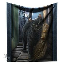 Gorgeous Lisa Parker Throw/Blanket - A Brush with Magick -160cm - Nemesis Now