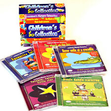 Children's 5 CD box set of kids songs, stories & nursery rhymes NEW & WRAPPED