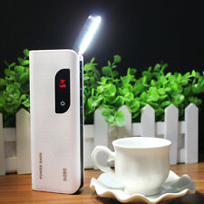 AU Touch Switch 50000mAh 3USB LCD Power Bank Battery Charger For Mobile Phones