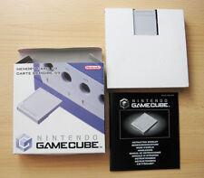 Original Nintendo Gamecube Memory Card 59 Speicherkarte 4MB grau