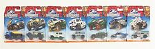 Matchbox DFT46 Jurassic World 1:64 Scale Die-cast Vehicles - Set of 7