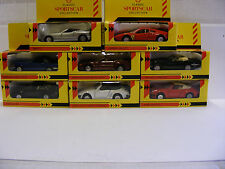 Shell Classic Sportscar collection, 1/38 scale.