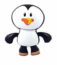 56cm Inflatable Blow Up Penguin Xmas Winter Animal Party Prop Window Decoration