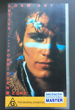 ADAM ANT - Antics In The Forbidden Zone VHS Video PAL Very Good 1990 Rare