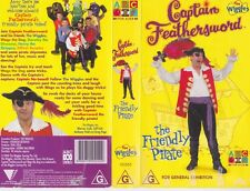 THE WIGGLES CAPTAIN FEATHERSWORD  VHS VIDEO PAL~ A RARE FIND
