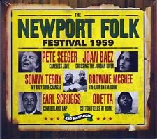 THE NEWPORT FOLK FESTIVAL 1959 (NEW SEALED 3CD BOX SET)