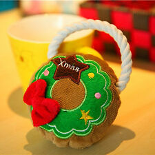 Pet Toy Christmas Small Dog Cat Puppy Chew Squeeze Sound Set Cute Festival Toys