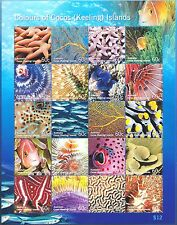 Cocos Islands 2011 Colours of Cocos Marine Life Sheetlet MNH