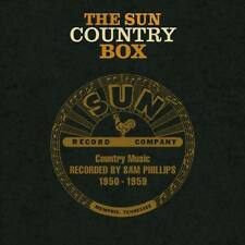 THE SUN COUNTRY BOX Country Music Recorded 1950-1959 Bear Family 6CD Book * NEW