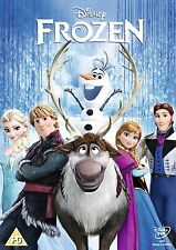 Disney Frozen DVD - New + Sealed - Region 2 UK - FREE P&P