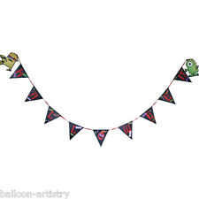 12ft Boo Buddies Monsters Halloween Party Pennant Flag Banner Bunting Decoration