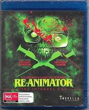 Re-Animator (Integral Cut)Blu Ray Extended Edition New Region B Free Post