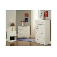 contemporary bedroom furniture set 3 piece white dresser chest nightstand wooden bedroom furniture set kids 3