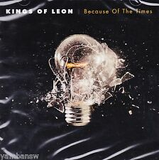 KINGS OF LEON * BECAUSE OF THE TIMES * NEW & SEALED CD