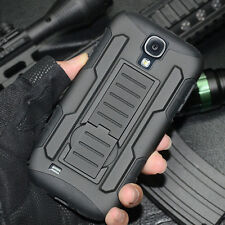 HEAVY DUTY Hybrid Armor Shockproof Hard Case Cover for Samsung Galaxy S4 i9500