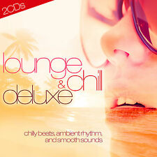 CD Lounge And Chill Deluxe von Various Artists  2CDs
