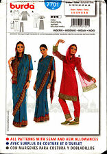Burda Pattern 7701 Burda Womens Indian Dress