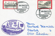 GERMAN CARGO SHIP CLAUDIA L A SHIPS CACHED COVER