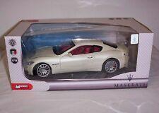 Mondo Motors - Maserati Gran Turismo Sports Car  Diecast Model 1:18 Scale
