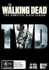 The Walking Dead : Season 6 (DVD, 2016, 6-Disc Set) Brand New Sealed Region 4