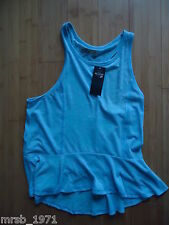 Ladies- Hollister - Sleeveless Turquoise Top - Size S - BNWT - Bargain RRP £24