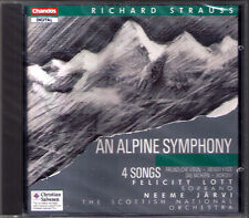 Neeme JÄRVI: STRAUSS Eine Alpensinfonie Four Songs Felicity LOTT CD Morgen NEU