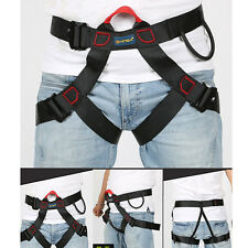 Professional Safety Belt Harness Seat for Rock Climbing Downhill Rappelling Tool