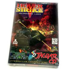 HOVER STRIKE ATARI JAGUAR CD GAME BOXED BRAND NEW FACTORY SEALED COLLECTORS ITEM