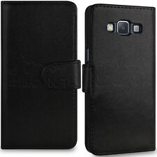 Black Soft Stylish PU Leather Stand Case Wallet Cover fits Samsung Galaxy A5
